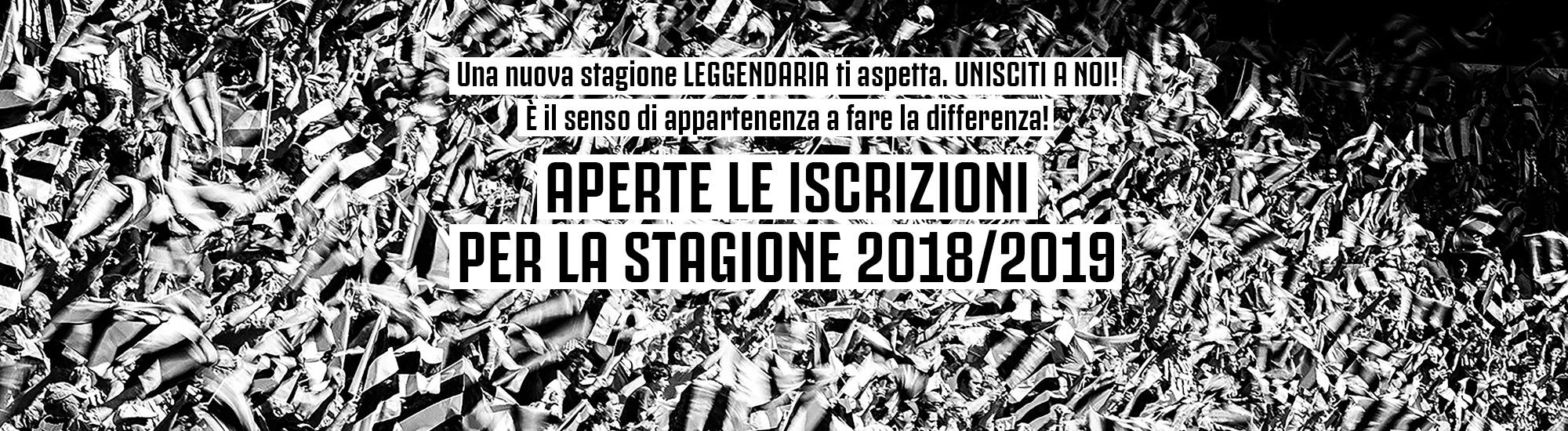 JOFC Leggenda Bianconera tesseramento stagione 18/19