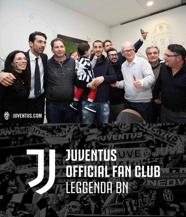 juventus official fan club leggenda bianconera
